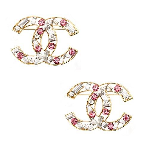 hand-xne001-elegante-spilla-pin-con-rosa-e-cristallo-libero-diamante-gemme-in-un-ambiente-frame-dora