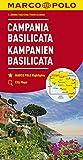 MARCO POLO Karte Italien Blatt 12 Kampanien, Basilicata 1:200 000 (MARCO POLO Karten 1:200.000) - Collectif