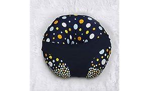 Kradyl Kroft 5 in 1 Magic Polka Baby Feeding Pillow with Detachable Cover