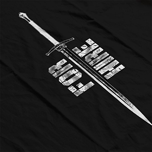 Game Of Thrones Bronn Sword For Hire White Women's Vest Black