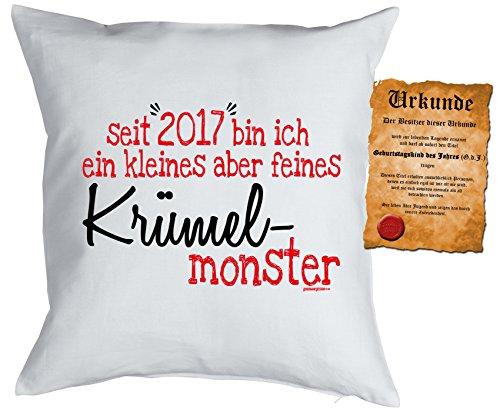 en - seit 2017 kleines KrümelMonster Kuscheliges mit Urkunde ()