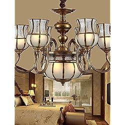 SUHANG Luz de techo 5W Tradicional/Clásico / Rústico/Campestre Led / Bombilla Incluida Latón Metal Lámparas Araña Sala De Estar / Dormitorio , 220-240V