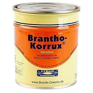 Rostschutzfarbe Brantho Korrux nitrofest 0,75l Anthrazitgrau