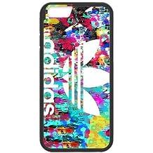 fdxgw514iPhone 6de 4,7pulgadas teléfono celular Case-Black _ colorful-adidas-