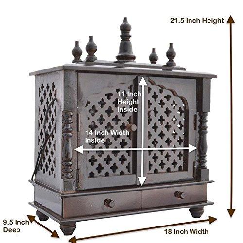 LED Light Home Temple/ Pooja Mandir/ Wooden temple/ Temple for Home/Mandap