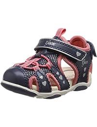 Geox B Sandal Agasim Girl C, Chaussures Marche Bébé Fille