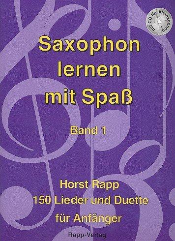 Rapp Verlag Saxophon lernen mit Spaß 1