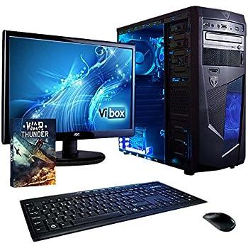 3ae4f95b4d9 VIBOX Centre 11 Gaming PC Ordenador de sobremesa con War Thunder Cupón de  Juego
