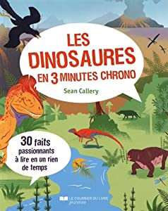 """Afficher """"Les dinosaures en 3 minutes chrono"""""""