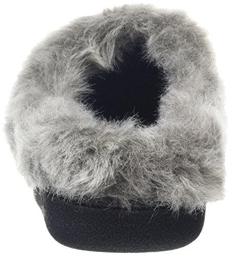 Dearfoams - Gold Accent Knit Clog With Memory Foam, Pantofole Donna Blu (Indigo 00483)