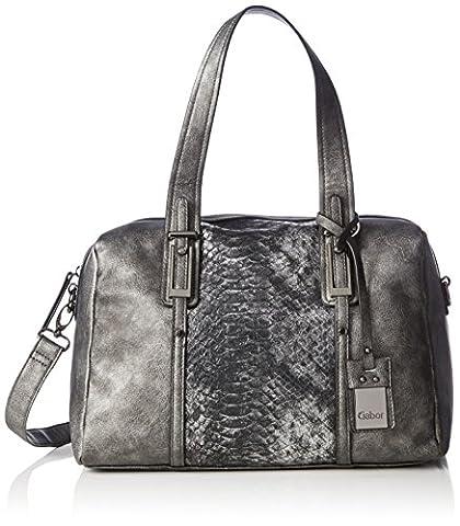 Gabor Women's VERA Top-Handle Bag Silver Silber (altsilber 15)