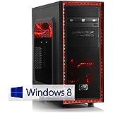 CSL Gaming PC Speed X4765 inkl. Windows 10 - Intel Core i7-4790 4x 3600MHz, 16GB RAM, 120GB SSD, 1000GB HDD, GeForce GTX 960, DVD, USB 3.0