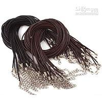 5 x 22 cm, in pelle, chiusura a moschettone, perizoma-corde