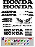 Aufkleber Klebstoffe Honda CBR 1000 RR Vinyl hochwertig Stanzen Kit 25 Einheiten (16 Farben verfügbar )