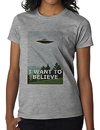 I Want To Believe–Camiseta de mujer