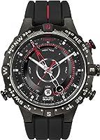 Timex - Reloj de cuarzo para hombre, correa de silicona de Timex