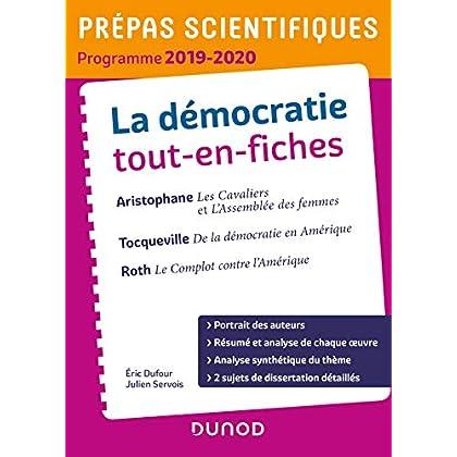 La démocratie tout-en-fiches - Prépas scientifiques - Programme 2019-2020