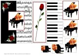 Piano Concerto - Foldback Card with Pyramid by Julene Harris