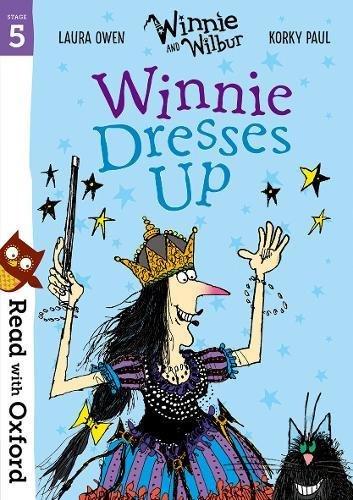 Winnie dresses up