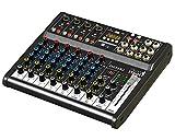 IS 2mix8X U mezclador Compacto de 8canales con grabadora de USB y Preamp de bajo ruido
