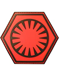 Star Wars First Order Force Awakens PVC Rubber 3D Fastener Patch