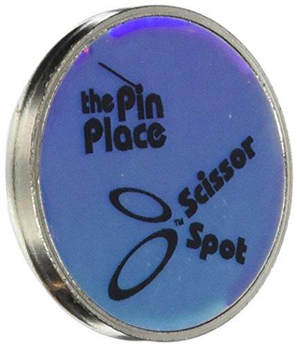 Blau Feder Schere Spot/Pin Place Magnethalter (Schere Pin)