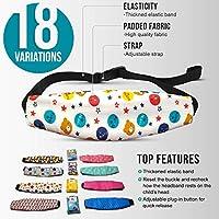 MV Essentials - Correa ajustable para asiento de coche para bebés, soporte para la cabeza