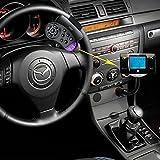 Kit vivavoce per auto con connettività Bluetooth, con radiotrasmettitore FM, lettore MP3, comandi al volante e porte USB, SD e MMC, di alta qualità