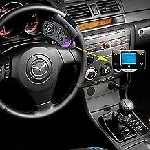 Pupug - Manos libres Bluetooth de alta calidad para coche con control de volante para USB / SD / MMC, reproductor MP3