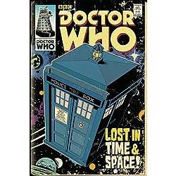 GB Eye, Doctor Who, Tardis Comic, Maxi Poster, 61x91.5cm