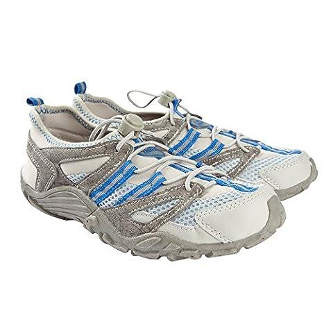 Typhoon Sprint II Aqua Shoes in Grey/Blue 470504 Boot/Shoe Size UK - UK Size 9