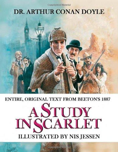 A Study in Scarlet: Illustrated by Nis Jessen par Arthur Conan Doyle
