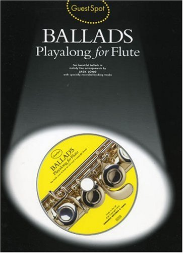 Guest Spot: Ballads Playalong For Flute (Album): Noten, CD für Flöte