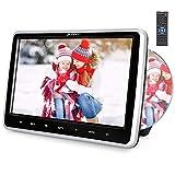 Pumpkin Reproductor de DVD para Reposacabezas de Coche con 10.1' HD LCD Pantalla de Unidad Óptica de...