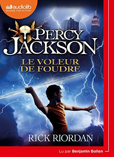 Percy Jackson 1 - Le Voleur de foudre: Livre audio 1 CD MP3