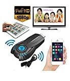 Dax-Hub Ezcast Wifi HDMI AirPlay display Miracast DLNA TV senza fili Dongle per Samsung Galaxy S4 S5 iPhone 4S 5S 6 Plus iPod touch iPad Smartphone Android Tablet di Windows 7/8 Pc (Black)