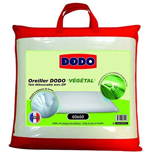 dodo-vegetal-oreiller-uni-ergonomique-mousse-mmoire-de-forme-blanc-60-x-60-cm