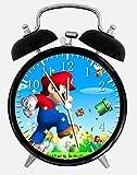 Super Mario Alarm Schreibtisch Uhr 9,5cm Room Decor W21wird ein schönes Geschenk