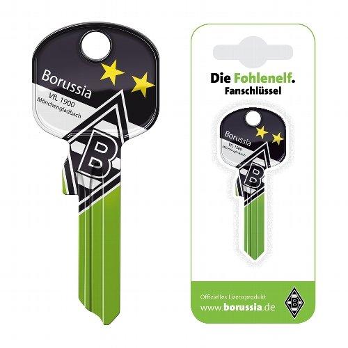 Fanschlüssel Schlüsselrohling Schlüsselanhänger Fanartikel Schlüsseldienst VFL Borussia Mönchengladbach