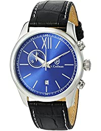 S.Coifman SC0371 - Reloj de pulsera hombre, color Negro