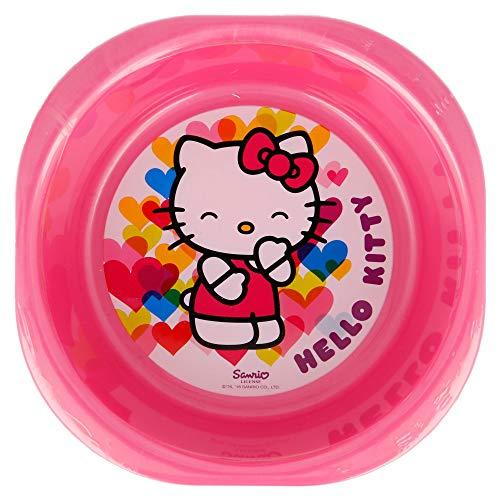 Set de 3 Bols Picnic Hello Kitty Hearts.