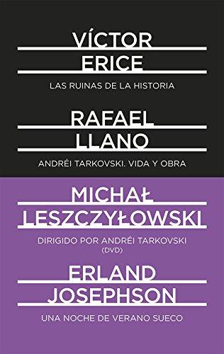 Portada del libro Andréi Tarkovski. Vida y obra. Las ruinas de la Historia. Dirigido por Andréi Tarkovski. Una noche de verano sueco: 2 (DeTresEnTres)