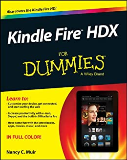 Kindle Fire HDX For Dummies (English Edition) eBook: Nancy C. Muir ...