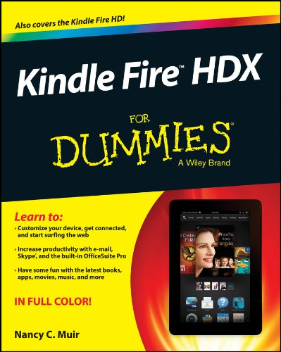 Kindle Fire HDX For Dummies (English Edition) (Kindle Dummies Fire Für)