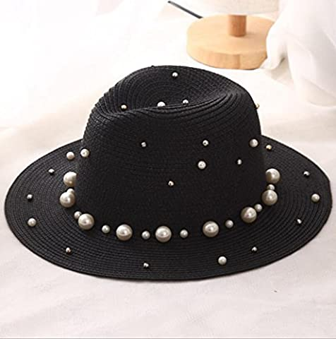 Sucastle In the summer, Sir, Cap, outdoor, sunscreen, hats, Crucify Pearl, hats, (56-58cm), GXFC