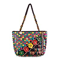 Rich and Famous Tote Bags For Women, Mixed, Multi Color