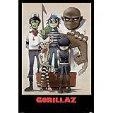Empire - Póster de Gorillaz con marco