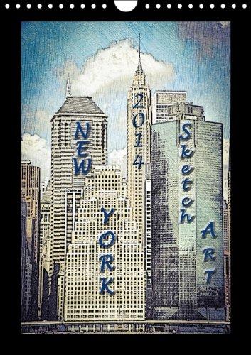 new-york-2015-sketch-art-wandkalender-2015-din-a4-hoch-new-york-in-skizzen-monatskalender-14-seiten