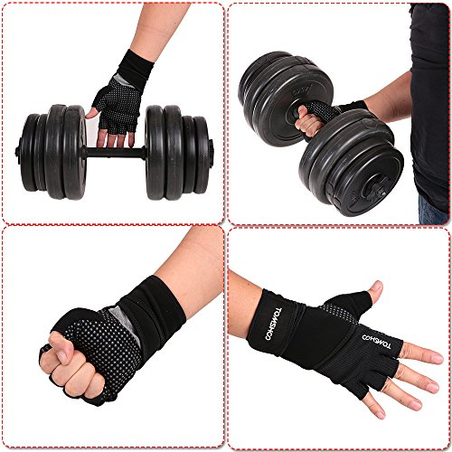 Tomshoo Unisex Weight – Weight Lifting Gloves