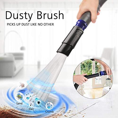 Cepillo aspirador universal, cepillo de limpieza multifunción,Automático, Ahorre tiempo y esfuerzo accesorio...